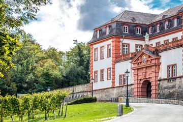 Zitadelle in Mainz an einem Herbsttag