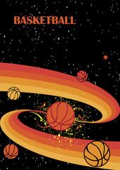 Starry basketball