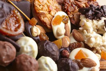 Fotorollo Süßigkeiten different sweets