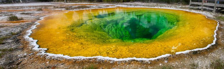 Morning glory pool, Yellowstone