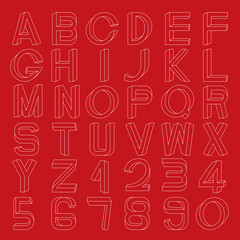Impossible font