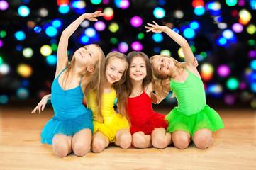 Happy little ballerinas