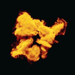 Vector illustration of fire explosion