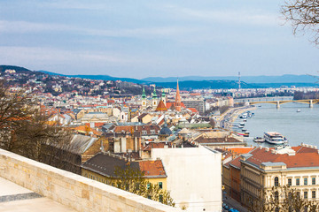 View of Buda, western part of Budapest