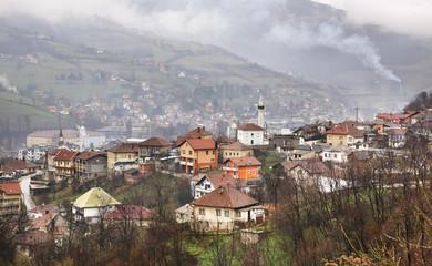 Travnik. Panoramic view. Bosnia and Herzegovina