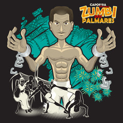 Capoeira Heroes Zumbi Dos Palmares A Hero Is Born During Slavery In Brazil, Zumbi Dos Palmares, Using Martial Arts Of Capoeira, Gain His Freedom