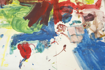 art water color education kid play fun concept