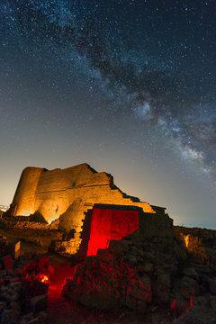 Milky Way Over Ancient Noto ter