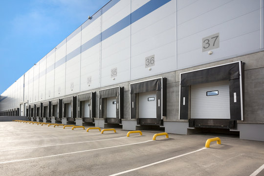 A Large distribution warehouse