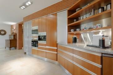 Elegant interior of fancy apartment