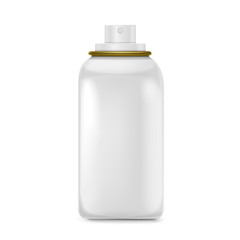 lovely white spray bottle