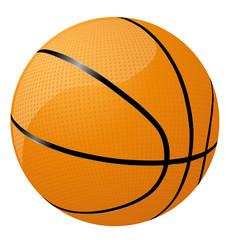 Basketball vector icon image