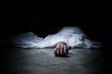 dead body Fototapete