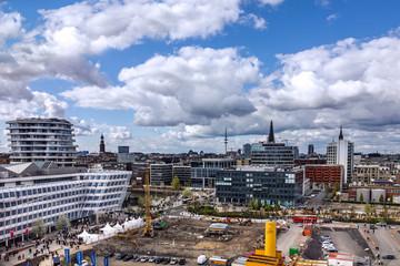 Hamburg, Germany. Cruise port buildings