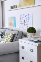 Beautiful modern living room