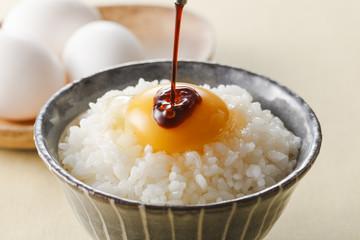 卵かけご飯 Raw Egg over Rice