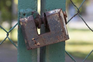 padlock background