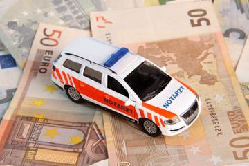 Kosten für Rettungsdienst