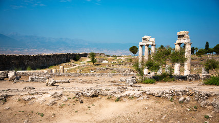 Ruins of ancient Hierapolis