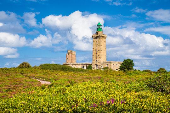 Lighthouse at Cap Frehel, Bretagne, France