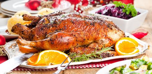 Weihnachts Ente mit Knödel