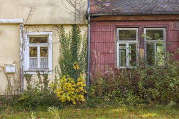 altes Wohnhaus Doppelhaus