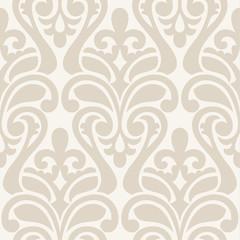 Ikat Damask Seamless Background Pattern