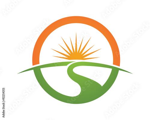 Tree natural logo environmental and green landscaping logo for Landscape design logo