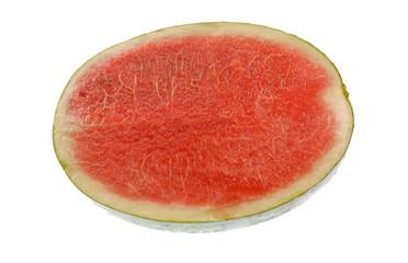 Ripe watermelon.
