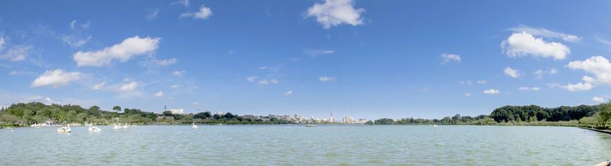 千波湖 茨城県水戸市