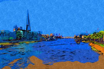 London art design illustration