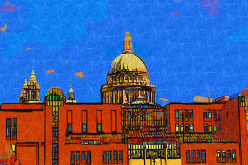 London art design illustration