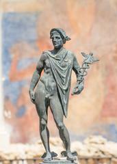 god hermes statue