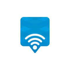 Wifi Signal Location Icon