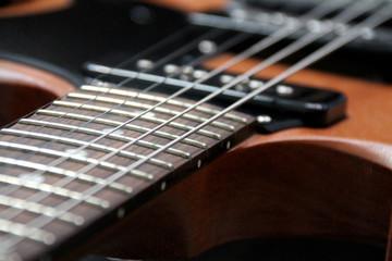 E-Gitarre Gibson Tonabnehmer Detail