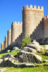 Wall Mural - Walls of Avila
