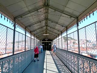 Lisboa - elevador de Santa Justa