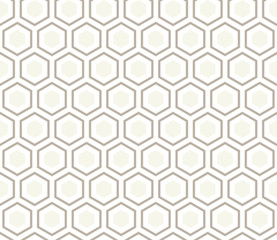 Seamless anthracite gray honeycomb pattern vector