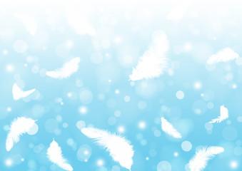 鳥の羽毛の背景