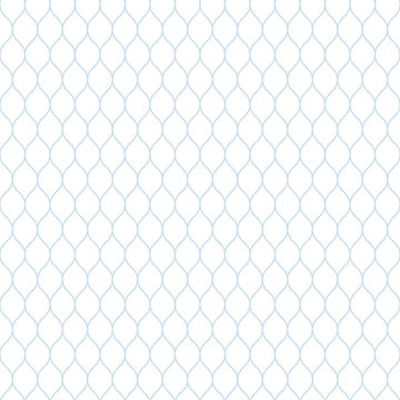 Seamless subtle blue and white woven pattern vector