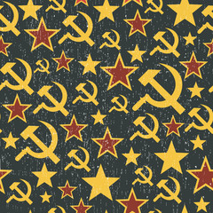 Soviet Union signs pattern.