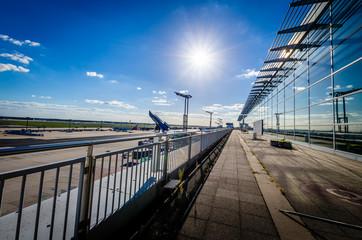 In de dag Luchthaven FFM Airport