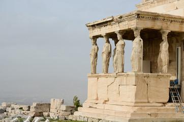 Le Cariatidi dell' Ereteo - Acropoli - Atene - Grecia