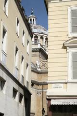 Scorcio da Piazza Garibaldi presso Parma