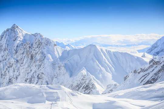 Ski area Zugspitze