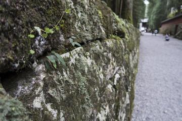 背景画像「石垣」