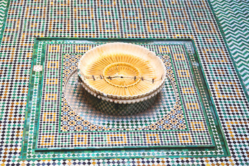 in morocco africa old   mousque palace