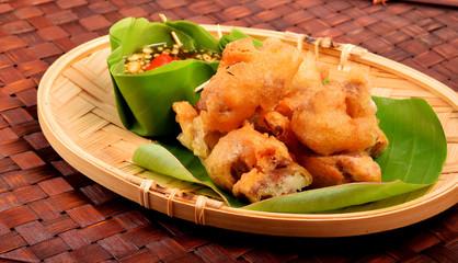 Deep Fried Tofu Fried taro