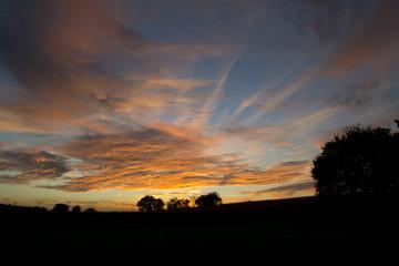 September Sunset Sky