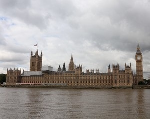 Palace of Westminster, London, United Kingdom. UNESCO World Heritage Site.